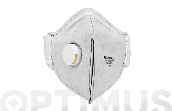 Mascarilla respiratoria desechable carbon activo 1 3 unidades