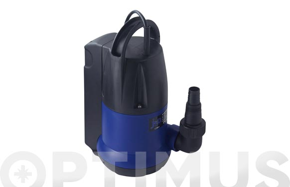 Bomba sumergible aguas limpias 750w 12.500l/h flotador integrado