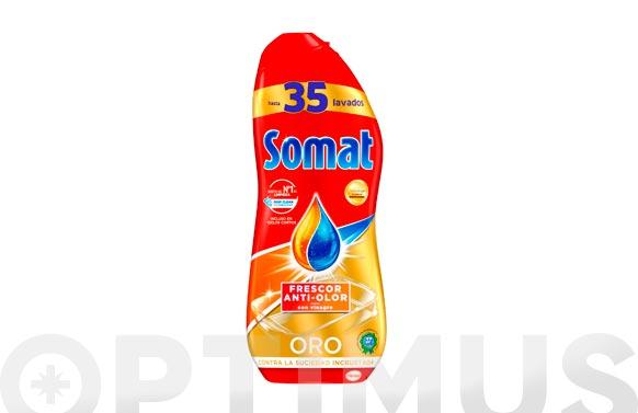 Lavavajillas somat gel vinagre 35 dosis