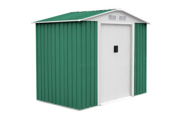 Caseta metalica manchester 3.64m2 verde l201 x a181 x h190 cm