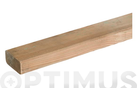 Travesaño madera autoclave 3.3 x 7 x 240 cm