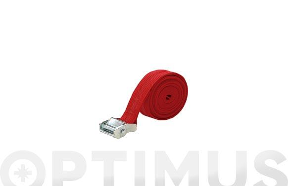 Trinquete amarre (bote 2 unidades) 35 mm - 4 m rojo