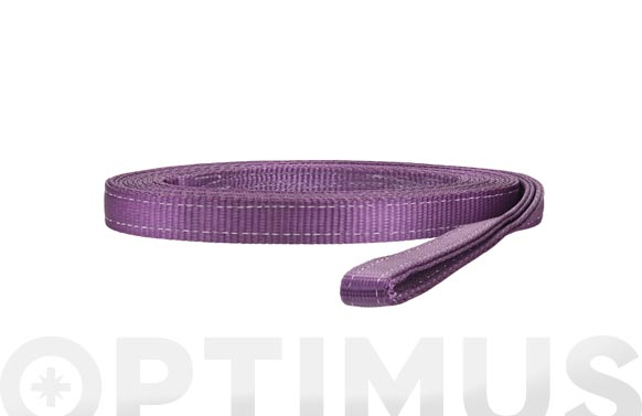 Eslinga plana doble 1 tn 30 mm/2 m violeta