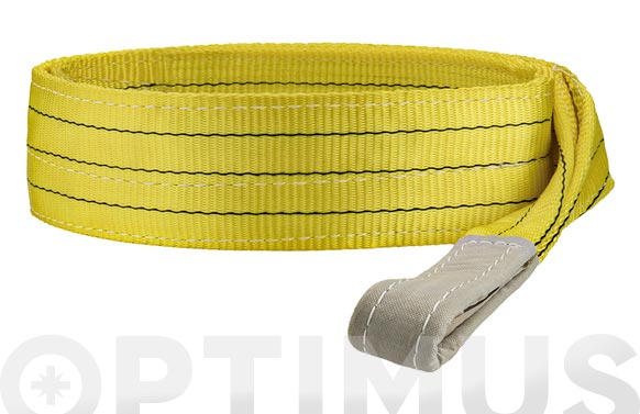Eslinga plana doble 3 tn 90 mm/4 m amarillo