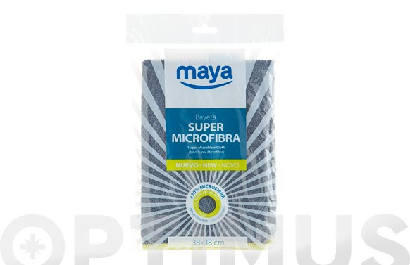 Bayeta super microfibra 350 gr 38 x 38 cm