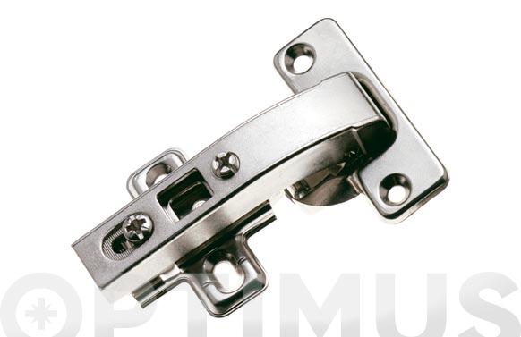 Bisagra de cazoleta recta modelo 4403 90. ø 35 mm niquel