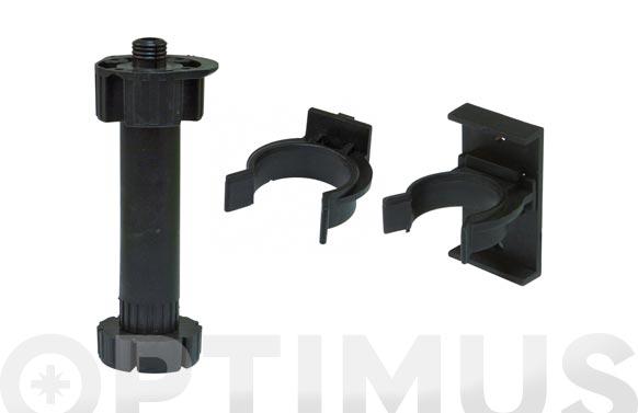 Patas mueble cocina modelo negro 9 4 uds 16 x 135 x 160 mm