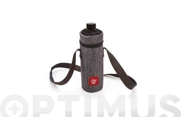 Funda nevera botella jaspeada 0,5 l