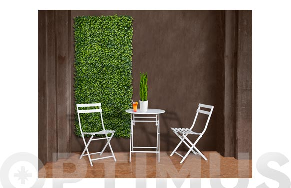 Jardin vertical artificial lauro 100 x 100 cm