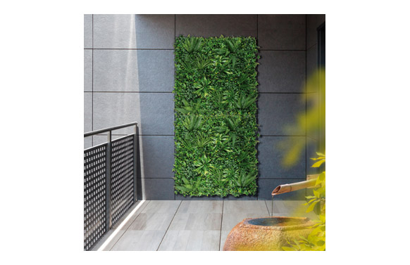 Jardin vertical artificial tropic 100 x 100 cm