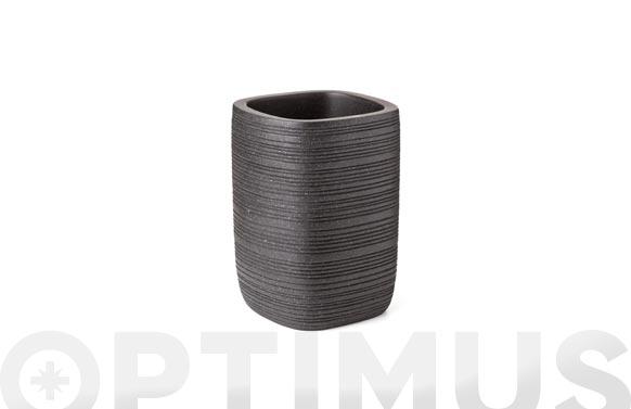 Vaso bambu negro