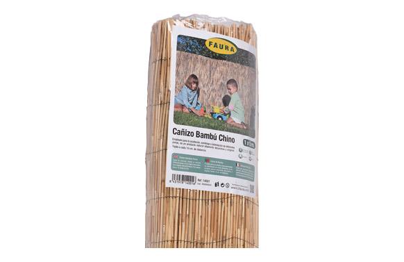 Cañizo bambu pelado 1 x 5 m