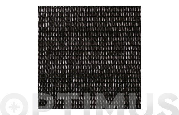 Malla ocultacion pe/rf 80% 2 x 10 m negro