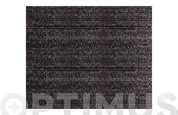 Malla ocultacion pe/rf 80% 1 x 5 m negro