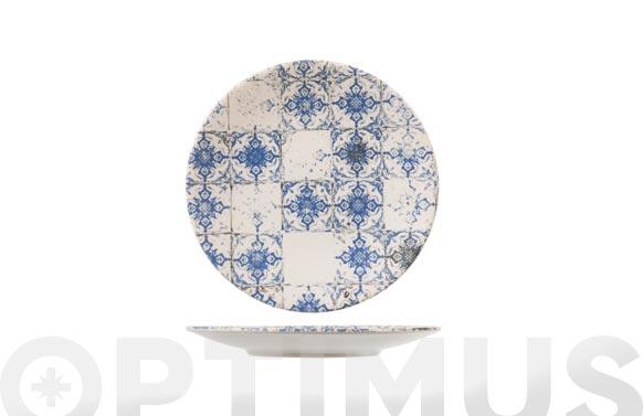 Plato stoneware lotus postre 20 cm