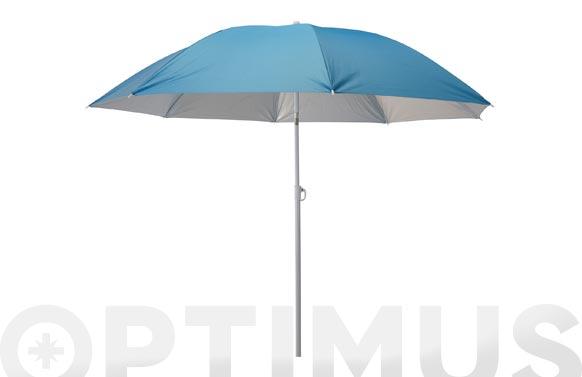 Parasol-sombrilla playa 180 cm colores surtido