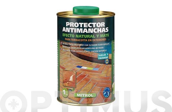 Protector antimanchas con acabado natural mitrol 1 l