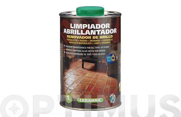 Limpiador abrillantador de suelos cerabric 1 l