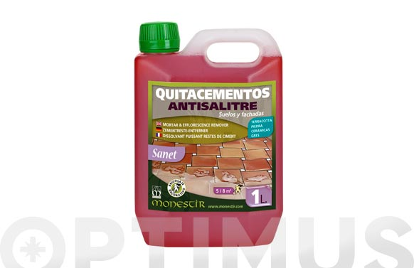 Limpiador suelos quitacemento antisalitre sanet 1 l