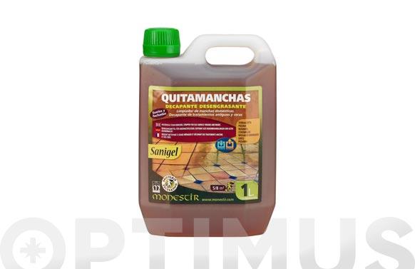 Limpiador suelos quitamanchas decapante sanigel 1 l