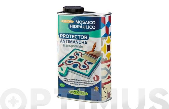 Protector antimanchas mosaico hidraulico 1 l transparente