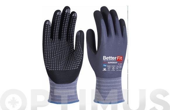Guante better fit superdot con proteccion termica t 6 nitrilo foam en palma