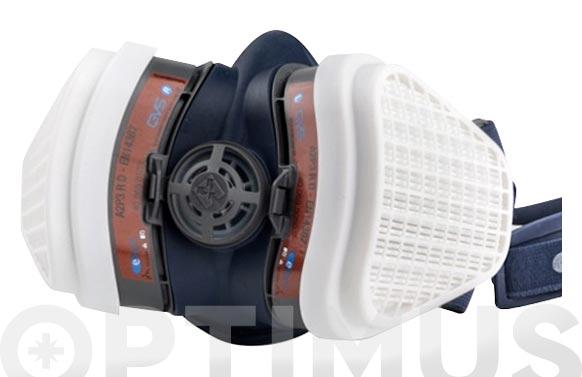 Mascara elipse a2 p3 rd para gases y vapores organ talla m/l filtro de recambio ref. spr-497