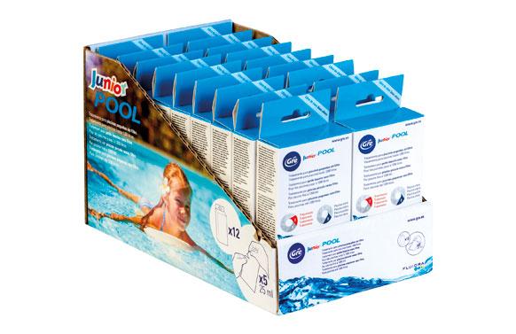 Tratamiento piscinas infantiles sin filtracion 5 sobres