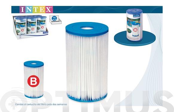 Filtro cartucho para depuradora piscina tipo b