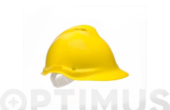 Casco jumbo v3 amarillo