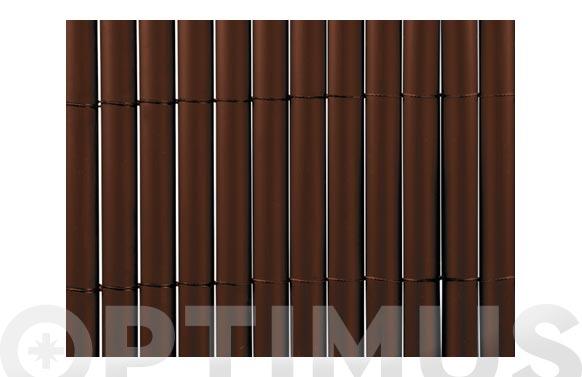 Cañizo sintetico pvc plasticane oval chocolate 2 x 3 m