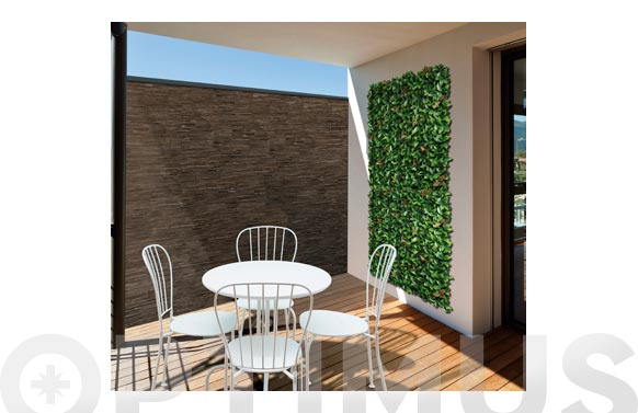Jardin vertical artificial red lauro 100 x 100 cm
