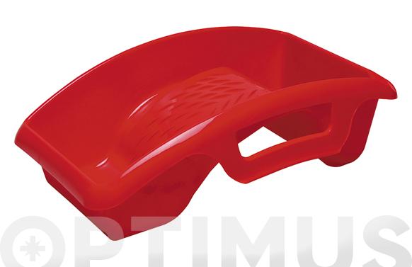 Bandeja mini rodillos ergonomica 22 x 32 cm