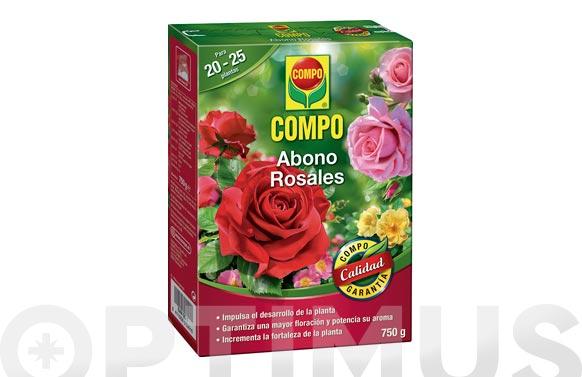 Abono rosales 750 gr