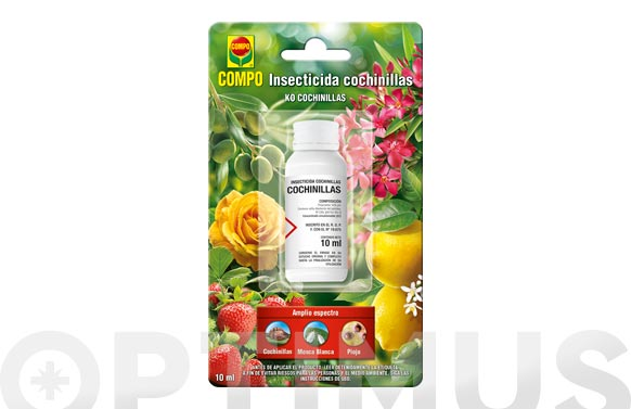 Insecticida cochinillas (monodosis) 10 ml
