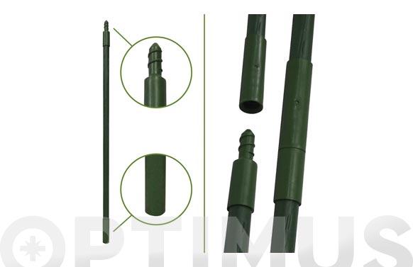 Tutor acero plastificado jardin prolongable 60 cm