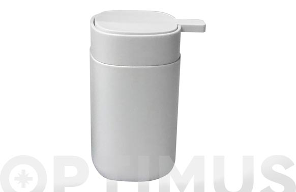 Dosificador jabon simple blanco mate