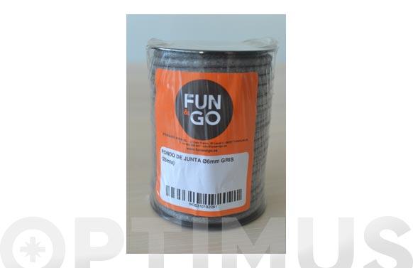 Cordon fondo de junta (rollo 25 m) ø 6 mm gris