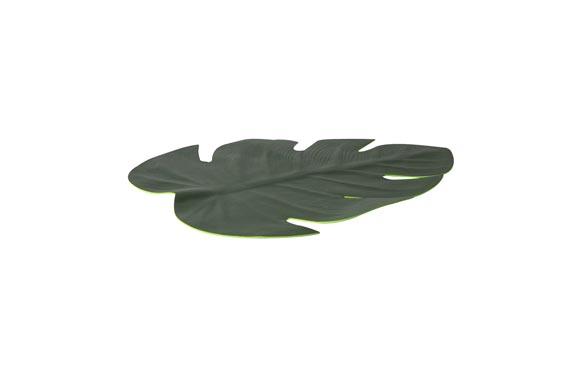 Mantel individual 46x37cm hoja verde