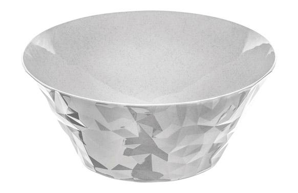 Ensaladera club bowl l 3,5 l gris organic