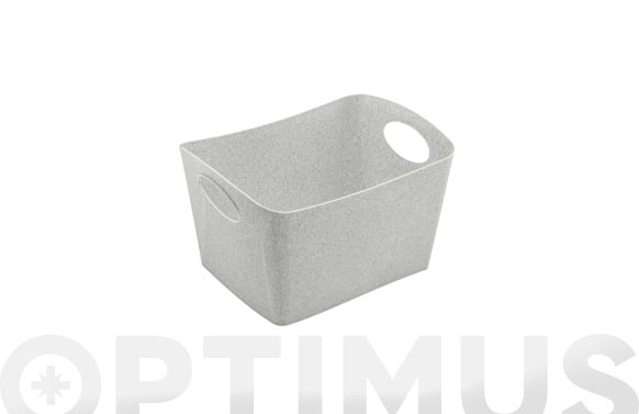 Cesta boxxx s gris organic 1l