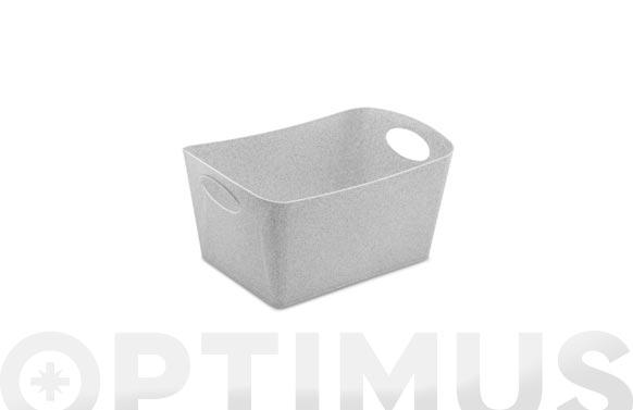 Cesta boxxx m gris organic 3,5 l