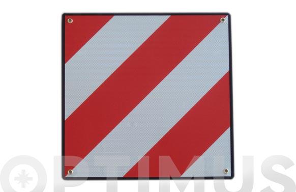 Señal carga sobresaliente v20 058 nivel 3 placa metalica 50 x 50 cm
