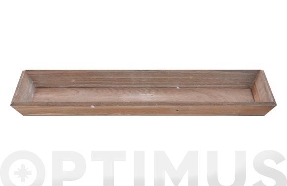 Bandeja madera natural 40 x 14 cm