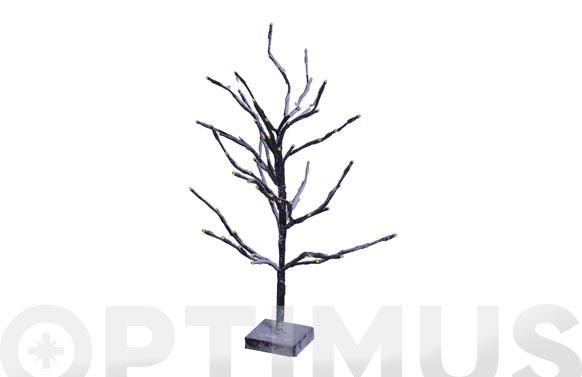 Arbol metalico con leds 60 cm