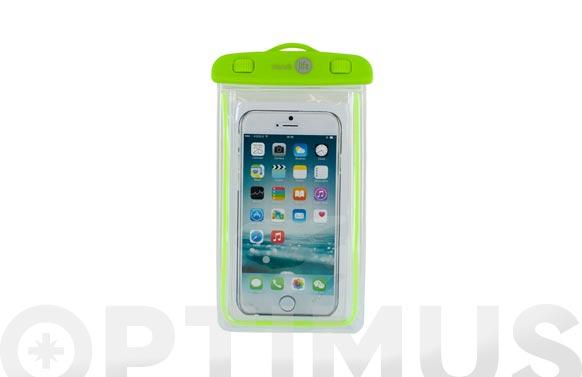 "Funda acuatica universal ipx8 smartphone hasta 6,2"""