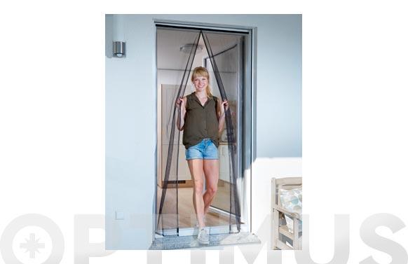 Mosquitera cortina magnetica antracita 120 x 240 cm