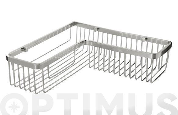 Cesto baño recto en angulo 30 x 30 x 8 cm