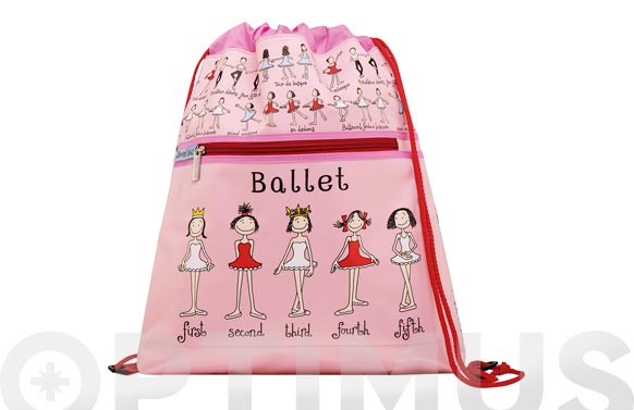 Mochila cuerdas infantil ballet
