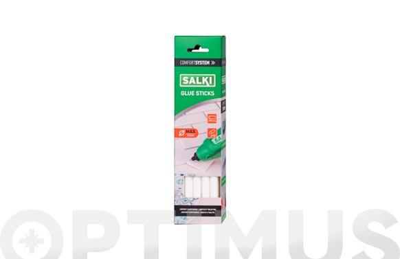 Adhesivo termofusible barra 15 uds ø 12 mm x 190 mm juntas y sanitarios